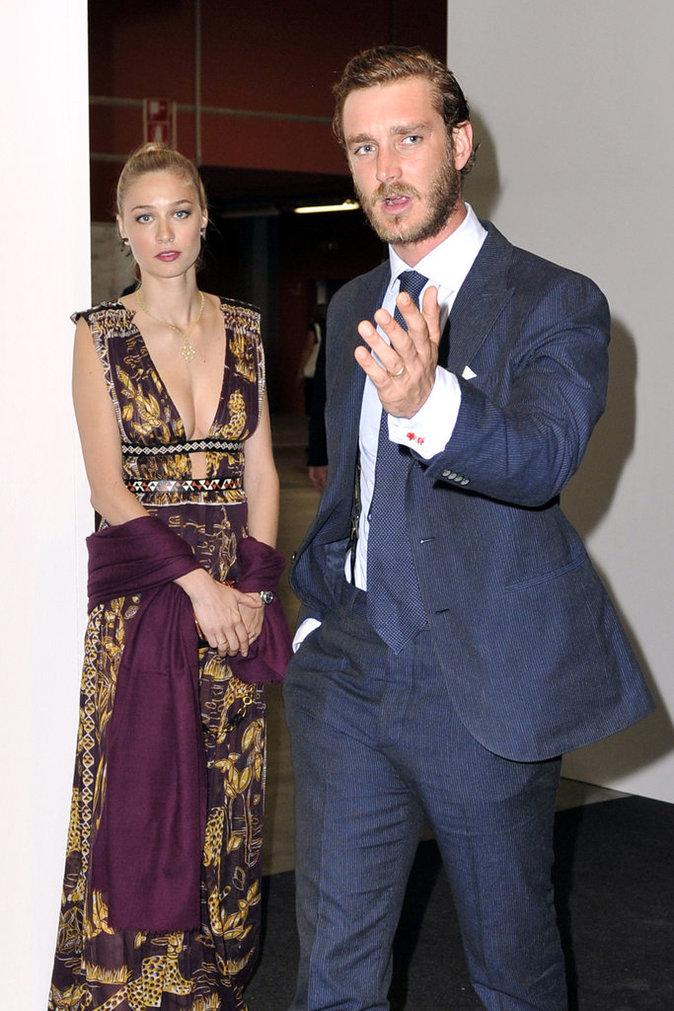 Photos : Beatrice Borromeo et Pierre Casiraghi : nuit glamour à Milan