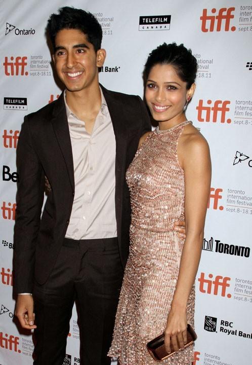 Freida Pinto et Dev Patel : le couple romantique