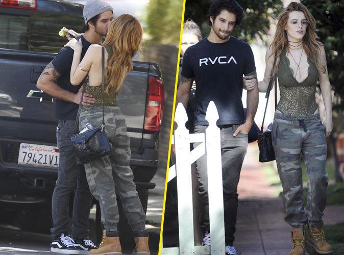 """Photos : Bella Thorne a retrouvé l'amour dans les bras de la star de """"Teen Wolf"""""""