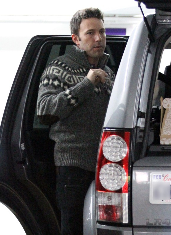 Ben Affleck le 1er décembre 2012 à Westwood
