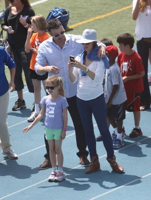 Ben Affleck et Jennifer Garner 28 avril 2013 à Los Angeles
