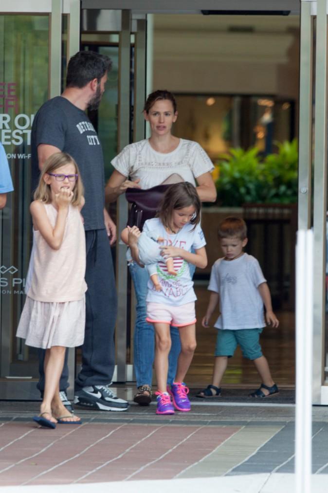 Ben Affleck et Jennifer Garner : Première sortie en famille depuis le scandale de la nounou !