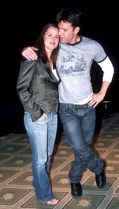 En 2003, ils sont jeunes et complètement in love !