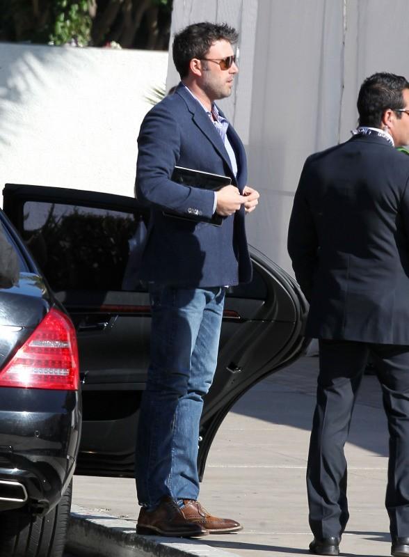 Ben Affleck à Long Beach, le 28 février 2013.