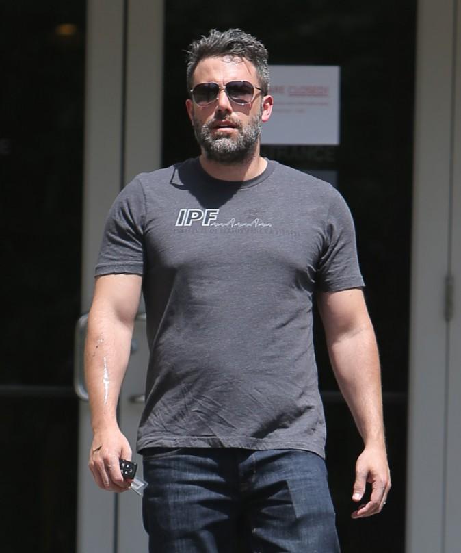 Ben Affleck : Il porte à nouveau son alliance !