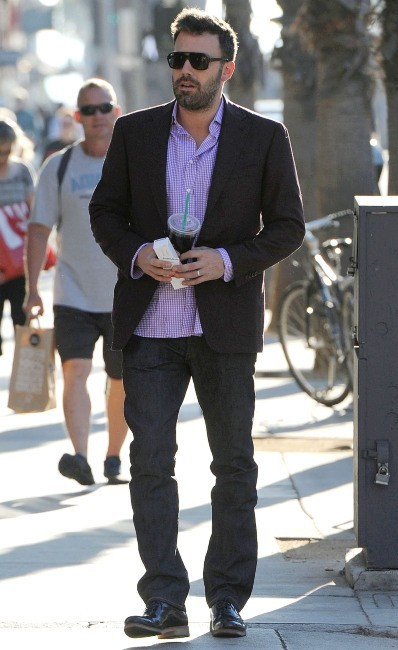 Ben Affleck le 6 novembre 2012 à Los Angeles