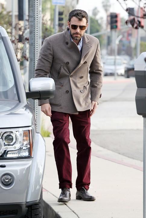 Ben Affleck à Los Angeles en famille le 27 novembre 2012