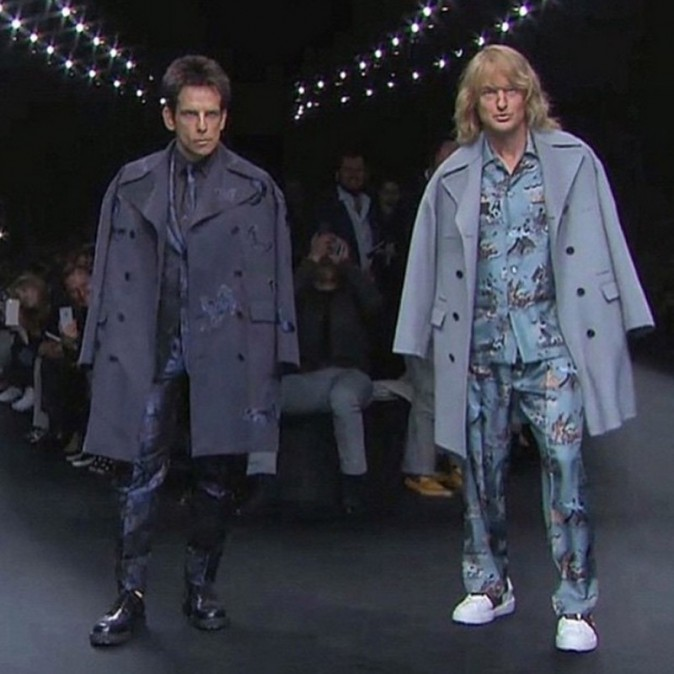 Ben Stiller et Owen Wilson défilent à la fashion week !