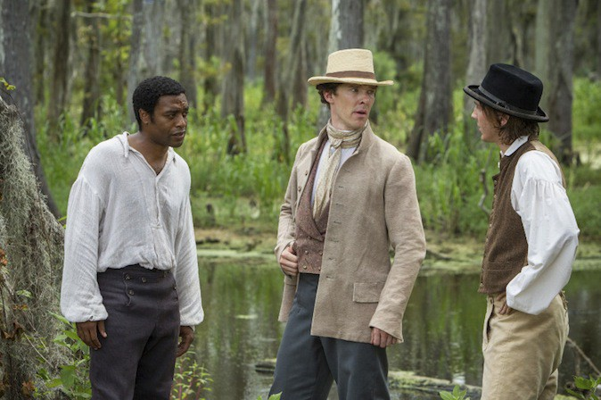 Benedict Cumberbatch dans 12 years a slave !
