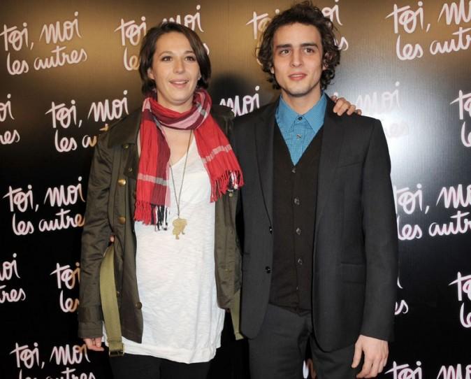 Benjamin avec Audrey Estrougo, la réalisatrice du film