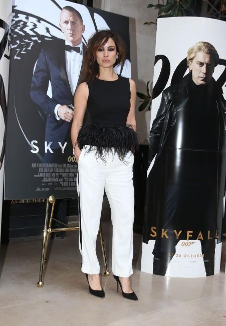 Bérénice Marlohe lors du photocall du film Skyfall à Paris, le 25 octobre 2012.