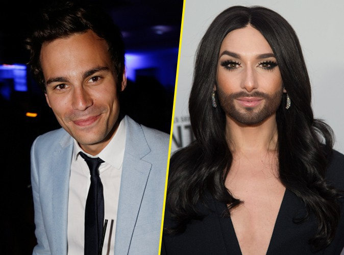 Photos : Bertrand Chameroy et Conchita Wurst : bien plus sexy que Ryan Gosling !