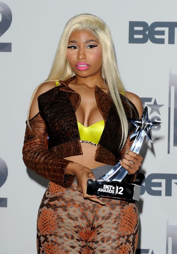 Nicki Minaj à la cérémonie des BET Awards le 1er juillet 2012