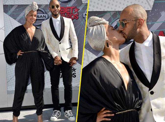 BET Awards 2016 : Alicia Keys et Swizz Beatz : l'amour sans fard !