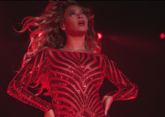 Beyoncé le 1er octobre 2015