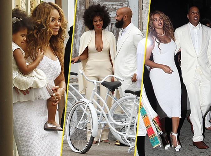 Photos : Beyoncé : absolument sublime en blanc au mariage de Solange, une famille plus unie que jamais !