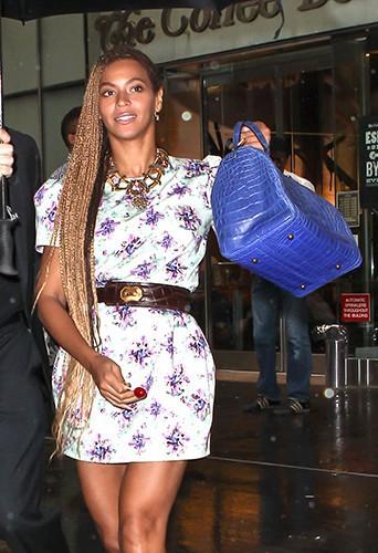 Beyoncé à New York le 30 mai 2014