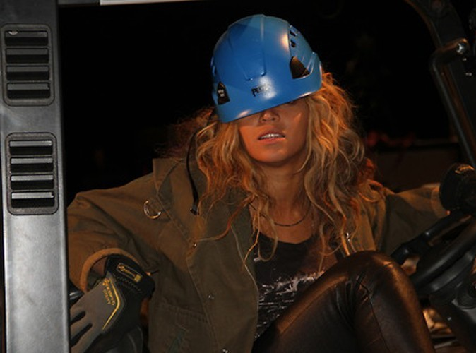 Photos : Beyonce : adieu le glamour, bonjour le shooting étrange !