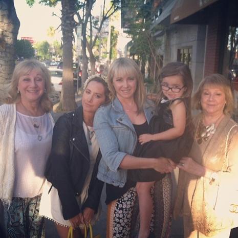 Ashley Tisdale en famille !