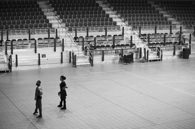 Beyoncé répète au stade Superdome de la Nouvelle-Orléans