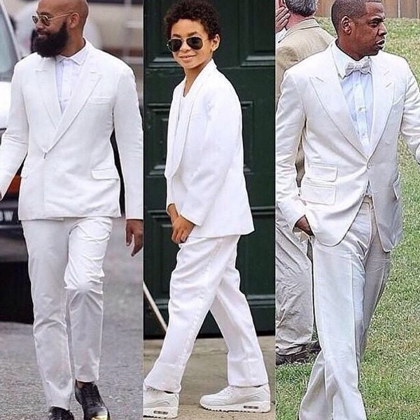 Alan Ferguson, Daniel Julez J. Smith (le fils de Solange Knowles) et Jay-Z
