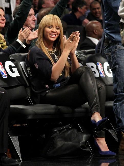 Beyoncé le 26 novembre 2012 à New York