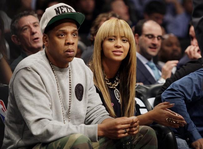 Jay-Z et Beyoncé le 26 novembre 2012 à New York
