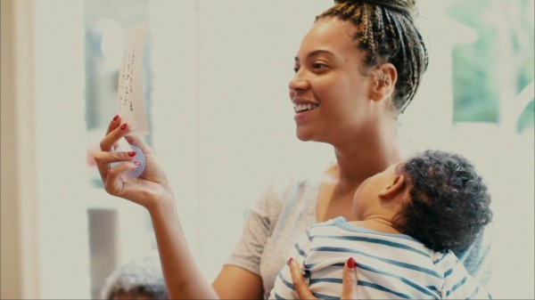 Beyoncé et Blue Ivy dans le documentaire Life is but a Dream