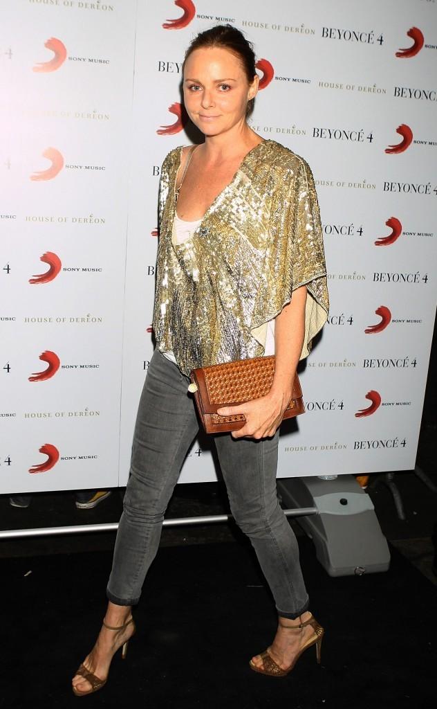 Stella McCartney lors de la soirée de lancement du nouvel album de Beyoncé à Londres, le 27 juin 2011.