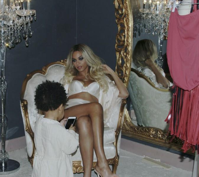 Beyoncé offre une leçon de séduction à Blue Ivy !