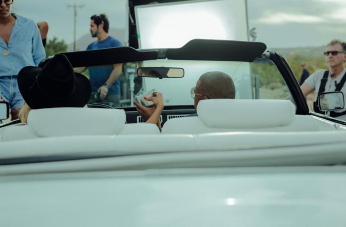 """Photos : Beyoncé et Jay-Z : découvrez les coulisses du tournage du trailer de leur """"On The Run Tour"""" !"""