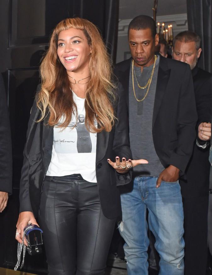 Beyonc� et Jay-Z : diner londonien en amoureux et lendemain culturel main dans la main !