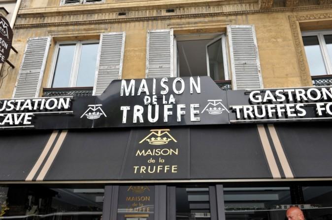 La Maison de la Truffe à Paris, le 6 juin 2012.