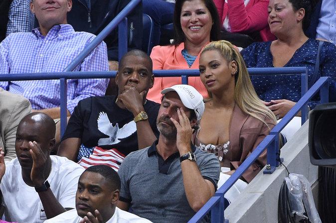 Photos : Beyoncé et Jay-Z fans d'une Serena Williams... dégoûtée !