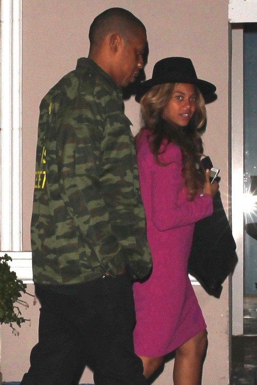 Photos : Beyoncé et Jay-Z : ils adorent jouer à cache-cache avec les paparazzis !