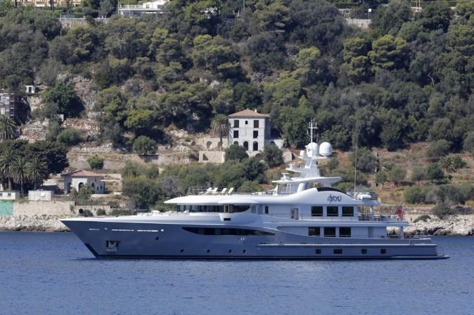 Le yacht de Beyoncé et Jay Z !