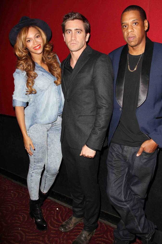 Beyonc� et Jay Z : ils soutiennent Jake Gyllenhaal � la premi�re de