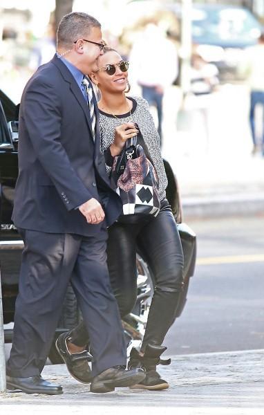 Beyonce le 20 octobre 2012 à New York