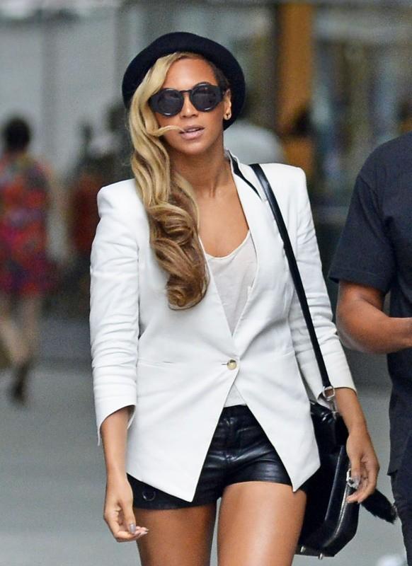 Beyoncé à New York, le 2 juin 2013.