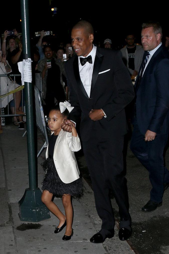 Jay Z And 50 Cent: Photos : Beyoncé Et Jay-Z : Quand Blue Ivy Leur Vole La