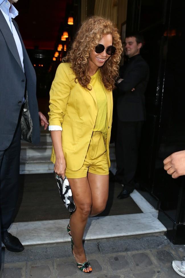 Beyonce le 7 juin 2012 à Paris