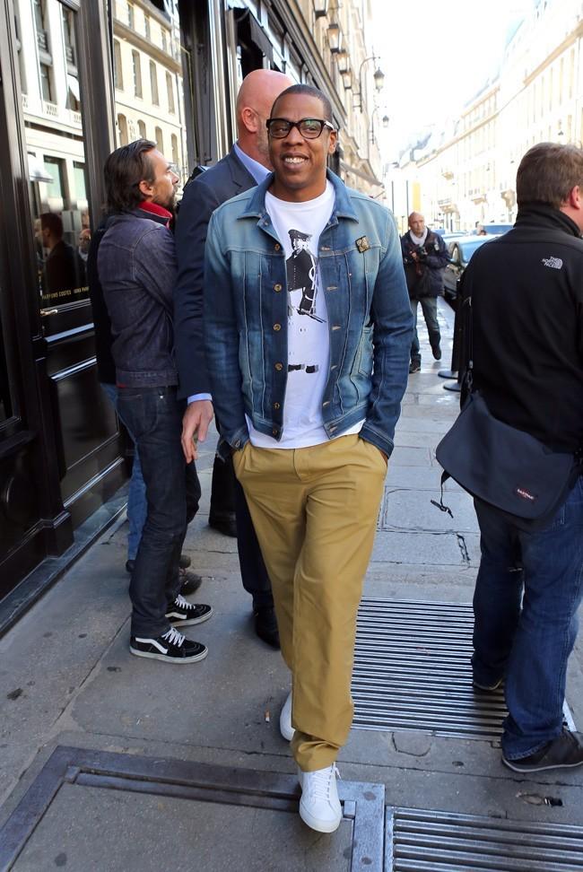 Jay-Z, trop content d'être à Paris