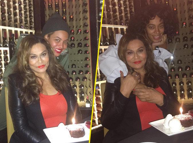 Beyonc� et Solange Knowles au naturel pour leur maman !
