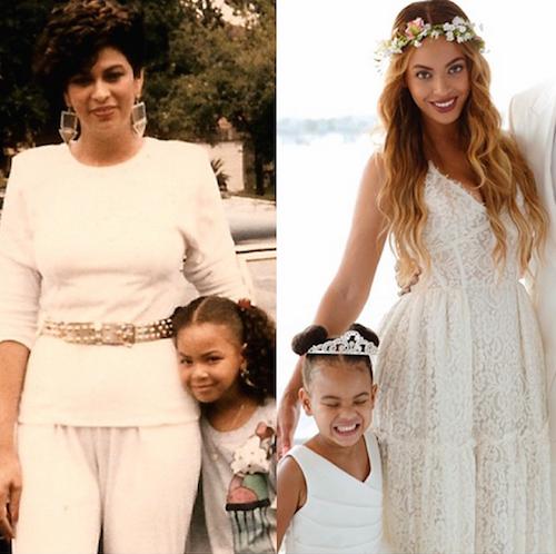 """Beyoncé : """"Tout mon amour à toutes les mamans du monde"""""""
