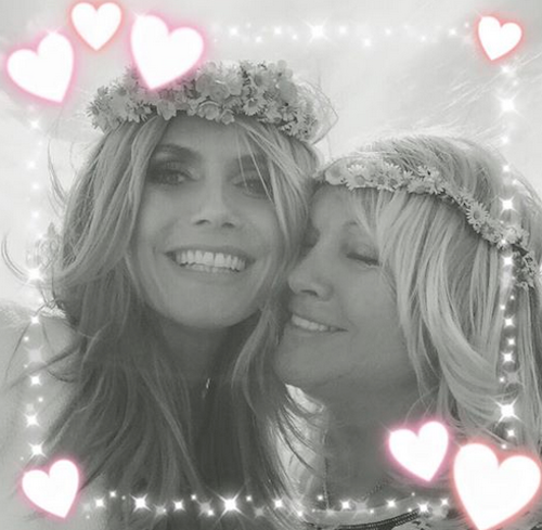 Heidi Klum et sa maman