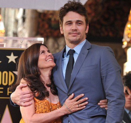 James Franco et sa maman