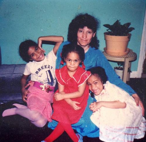 """Joan Smalls: """"La fête des mères, c'est tous les jours. Tu es un exemple d'amour, de dévotion et de compassion. Tu nous as appris tellement et..."""
