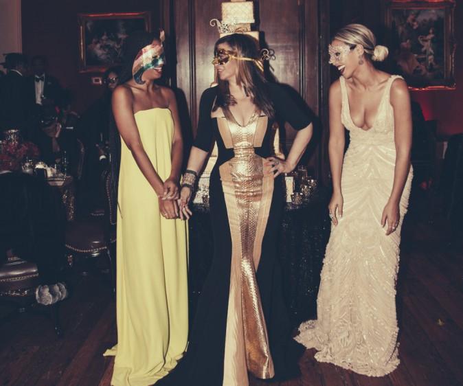 Beyoncé aux 60 ans de sa maman Tina