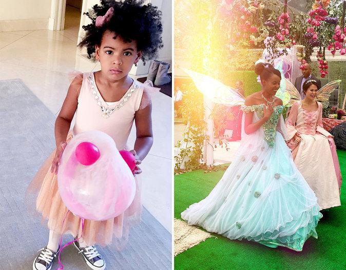 Les 4 ans de Blue Ivy par Beyoncé