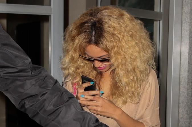 Beyoncé le 25 avril 2012 à New York